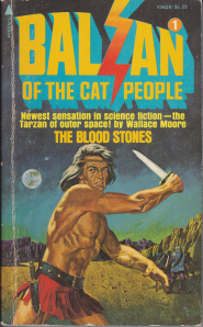 Balzan of the Cat People #1: The Blood Stones