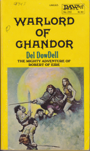 Warlord of Ghandor front