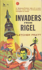 Invaders from Rigel front