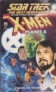 Star Trek TNG X-Men Planet X