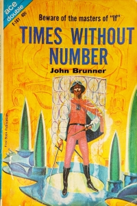The cover of this novel features a futuristic Spanish conquistador standing in front of a futuristic device.